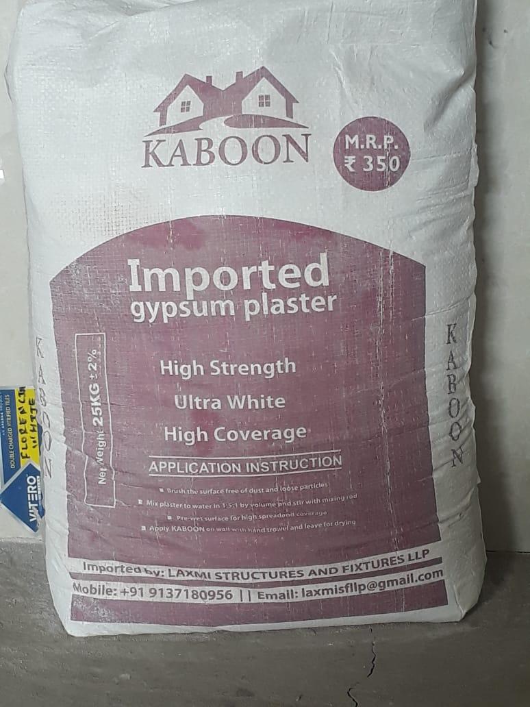 White Gypsum Powder