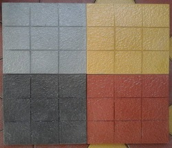 GLOSSY FINISH PARKING TILES