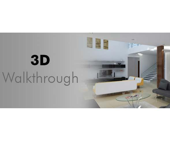 3D walk through