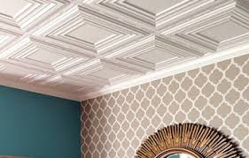 Decoractive ceiling tiles