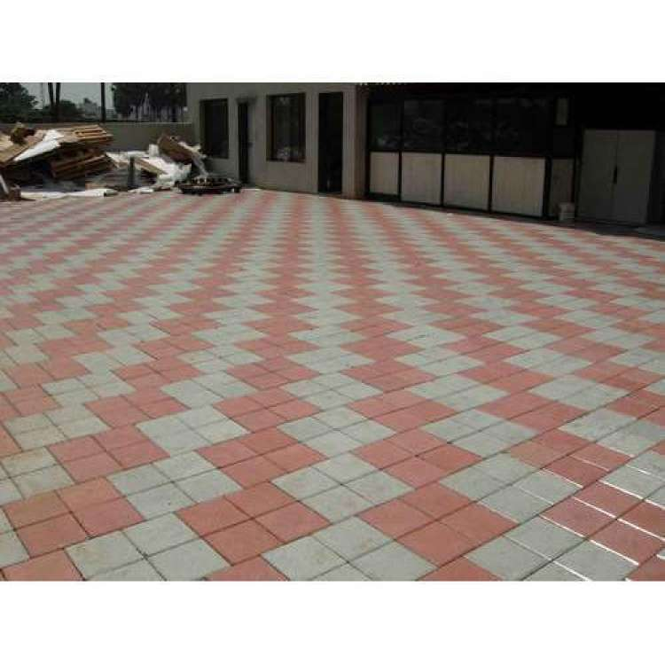 Parking Chequered Tiles