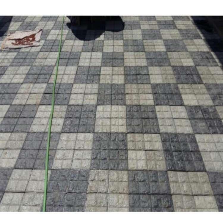 Garden Square Tiles Block