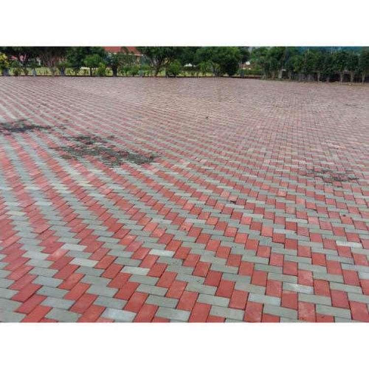 Lawn Floor Tiles Block