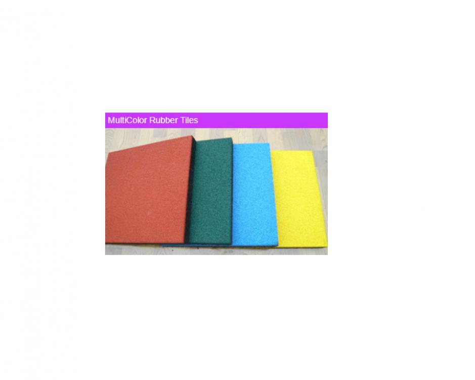 MultiColor Rubber Tiles