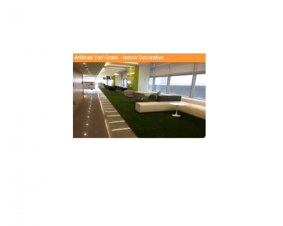 Indoor Decorative artificial grass
