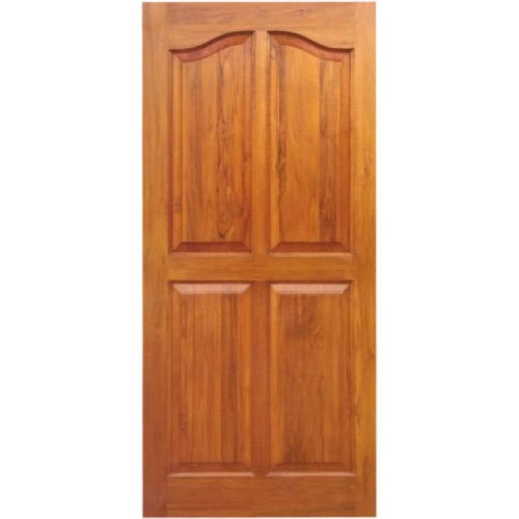 Teak Wood Panelled Doors