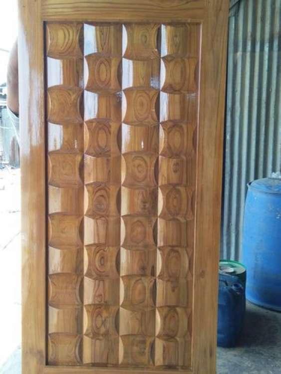 Hotel Wooden Door