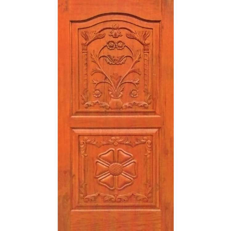 Solid Wood Entrance Gate