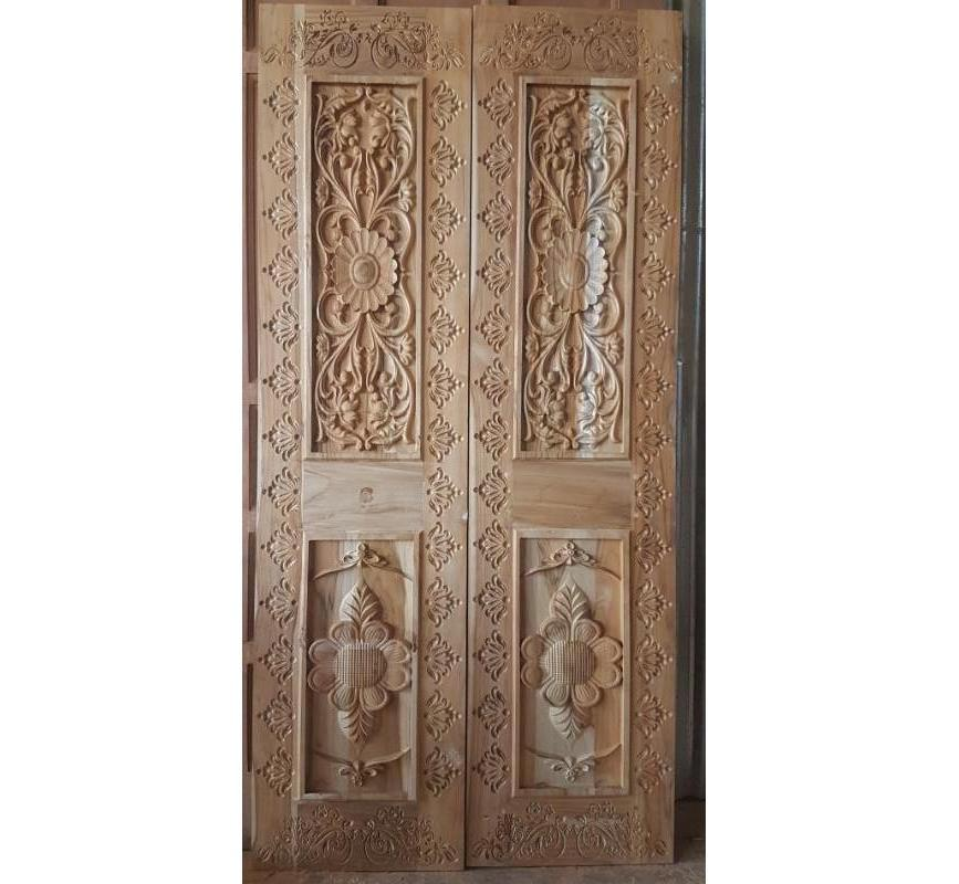 Wooden Carved Entrance Door