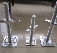Galvanized Adjustable Base Jacks