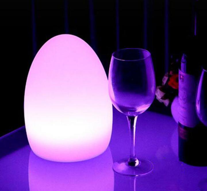 LED Illuminated Egg Table.