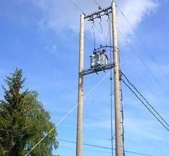 Overhead Line Pole