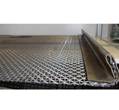 Vibrating Screens Cloth With Edge Preparation