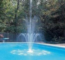 Swimming Pool Fountain