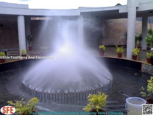 Fogging Fountain Nozzles