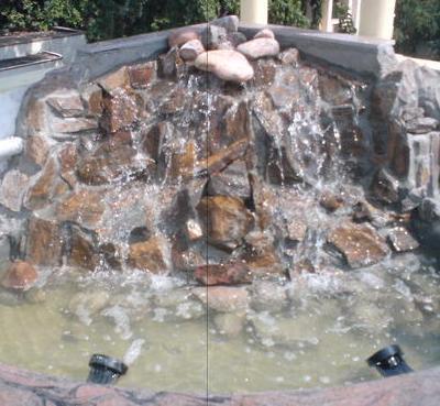 Waterfall Music Fountain