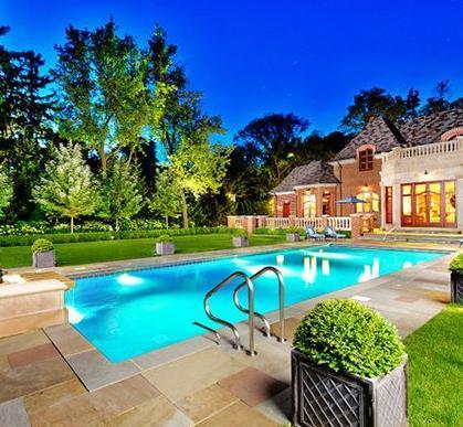 Garden Swimming Pool