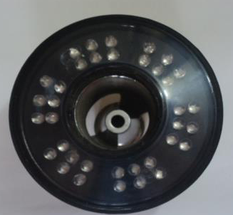 18w Under Water Nozzle Mounted Power LED Light