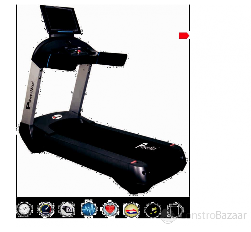 Commercial Motorized AC Treadmill (18.5� Colour Touch Screen) - NEW