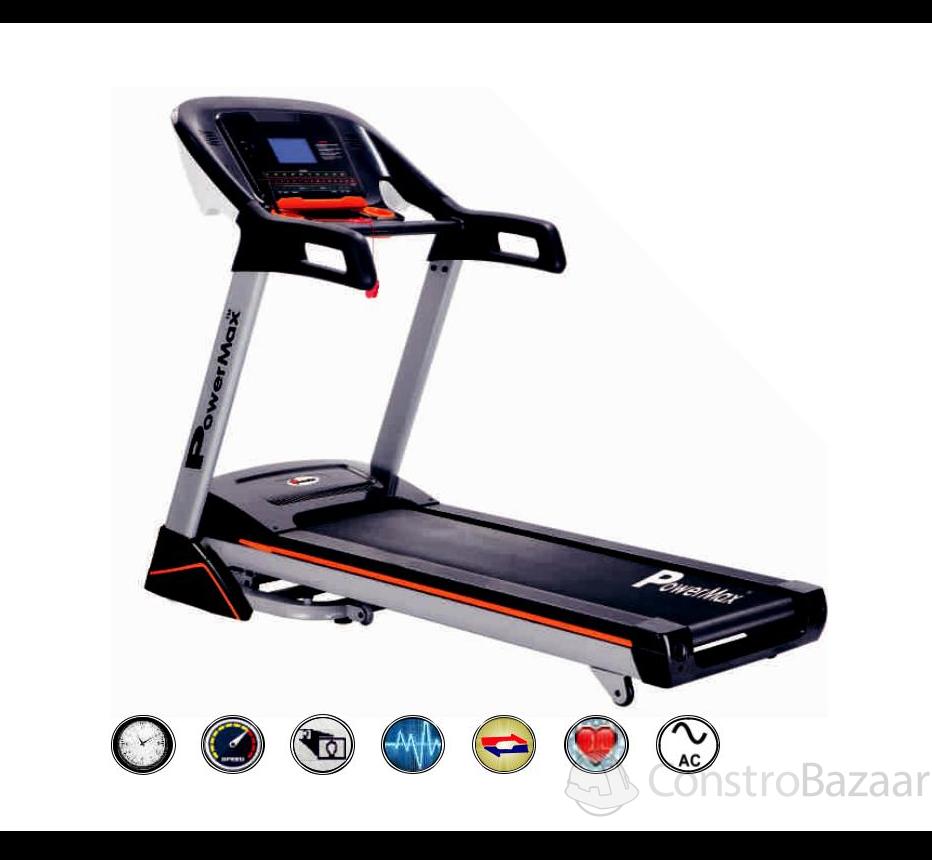 Motorized Treadmill (7 inch TFT Screen) - NEW