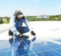 Rooftop Solar Maintenance Service