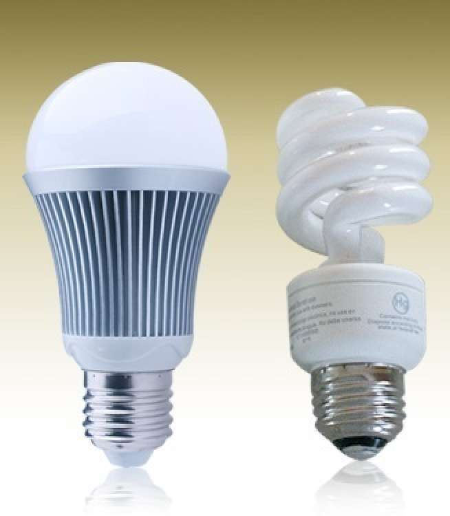 CFL and LED Bulbs
