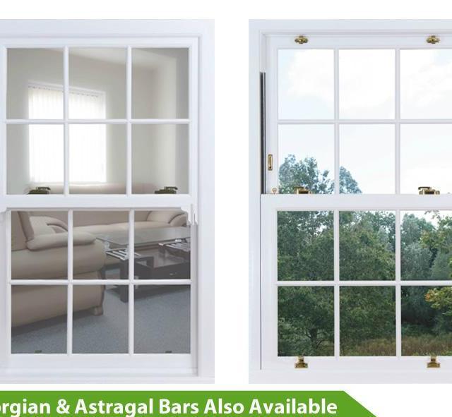 UPVC Vertical Slider Window