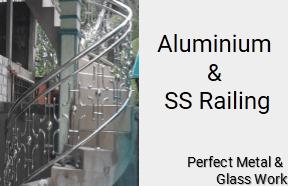 Aluminium & SS Railings