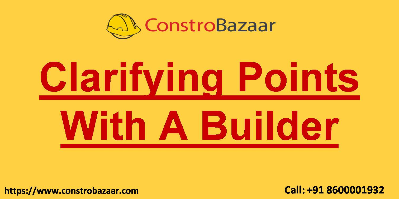 Clarifying points with a builder