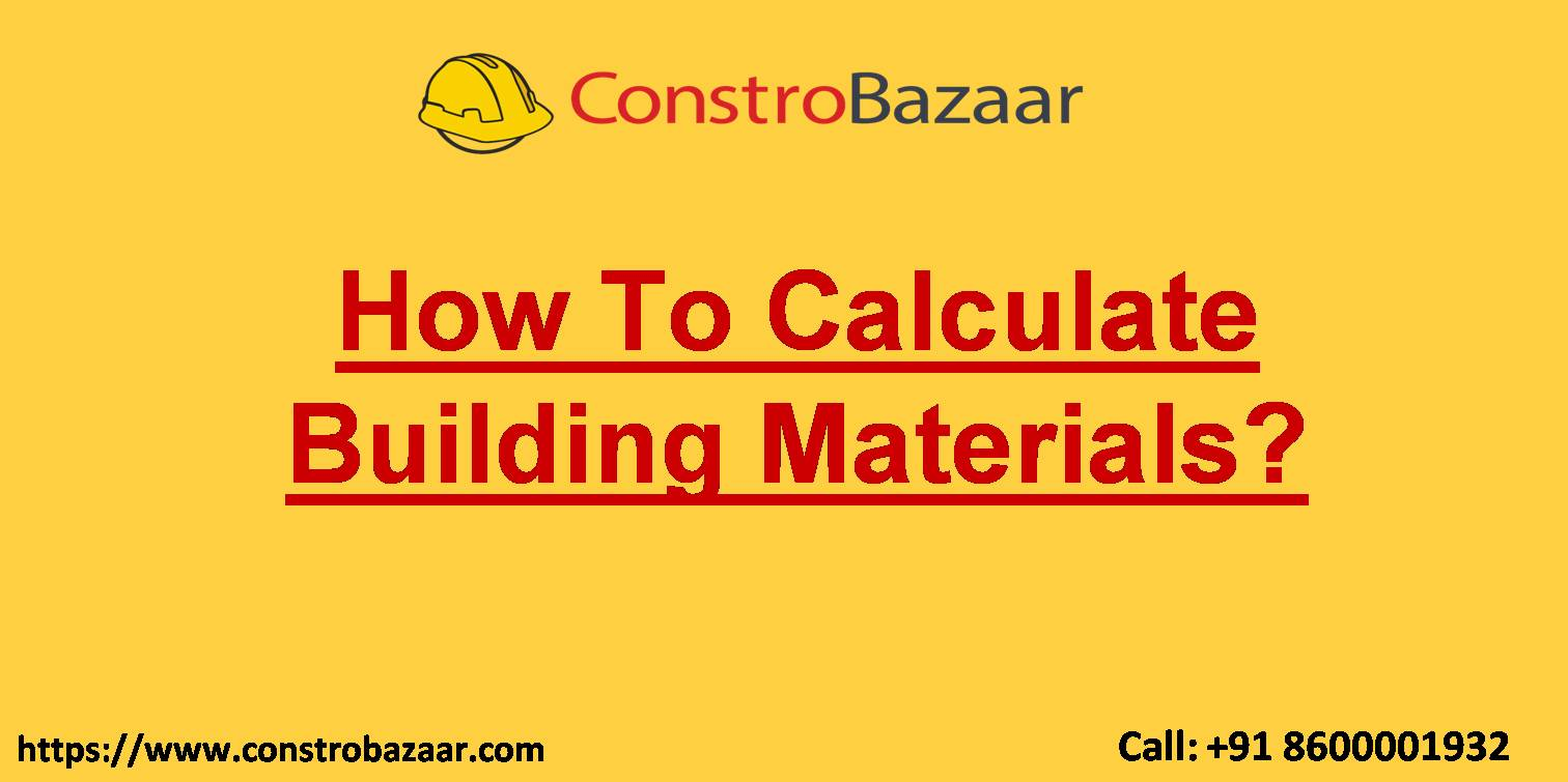 How To Calculate Building Materials.ppt