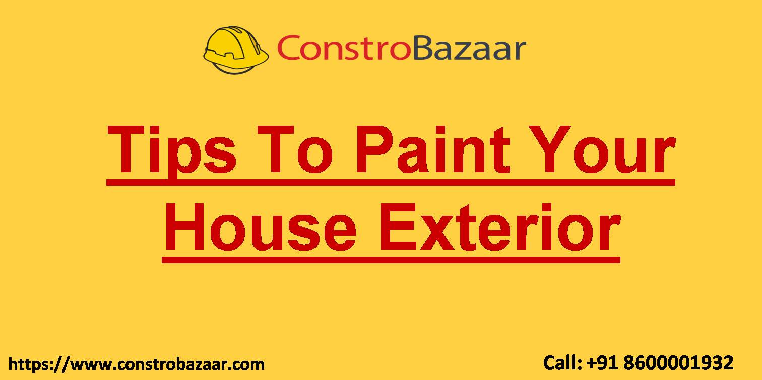 Tips To Paint Your House Exterior
