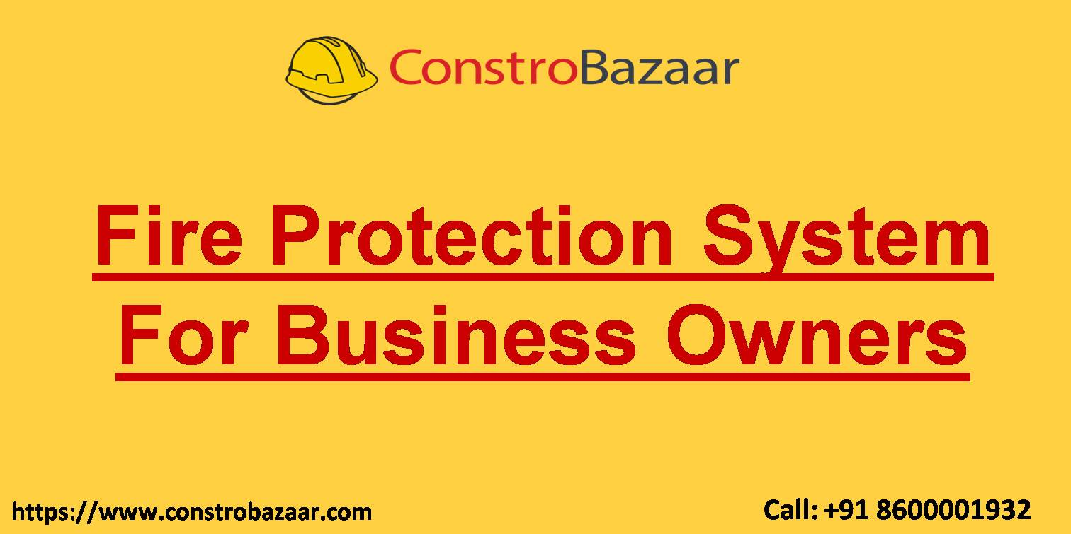 Fire Protection System For Business Owners