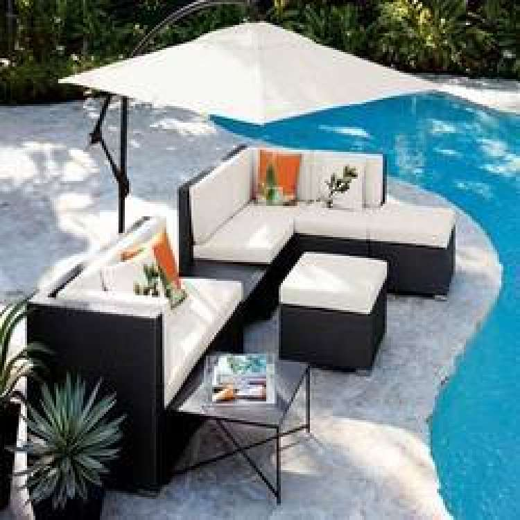 Buy designer furniture swimming pool furniture deck for Best poolside furniture
