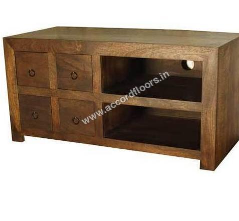 Buy Wooden Furniture Dark Wood Tv Units Online At Best Price In India Constrobazaar