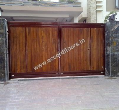 Buy doors custom wooden gate panels online at best price for Order custom windows online